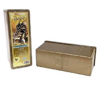 Dragon Shield Storage Box With 4 Compartments Gold