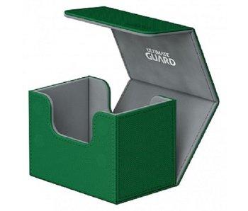 Ultimate Guard Deck Case Sidewinder 80+ Xenoskin Green