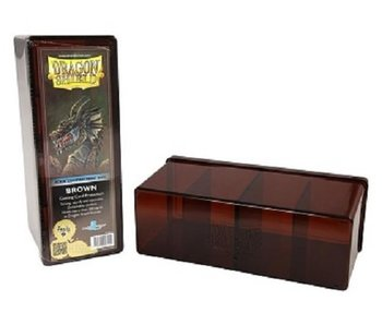 Dragon Shield Storage Box With 4 Compartments Brown