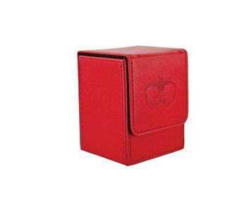 Ultimate Guard Flip Deck Case Leatherette Red 100+