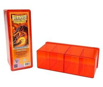 Dragon Shield Storage Box With 4 Compartments Orange