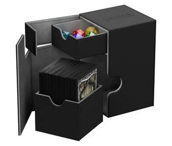 Ultimate Guard Flip N Tray Deck Case Xenoskin Black 80+