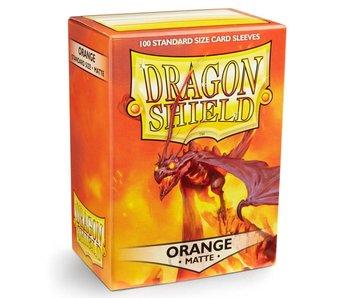 Dragon Shield Sleeves Matte Orange 100Ct