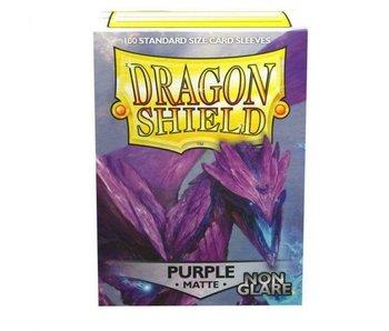 Dragon Shield Sleeves Matte Purple Non-Glare 100Ct