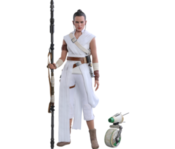 Rey and D-O Sixth Scale Collectible Set - Star Wars: The Rise of Skywalker (Hot Toys)
