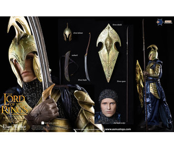 Elven Warrior Sixth Scale Figure - The Lord of the Rings (Asmus Toys)