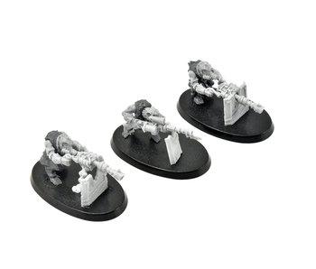 SKAVEN 3 Warplock Jezzails #2 Mantic Kings of War Warhammer Sigmar