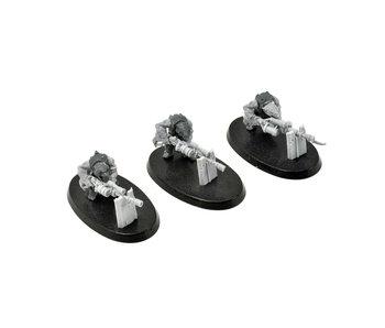 SKAVEN 3 Warplock Jezzails #3 Mantic Kings of War Warhammer Sigmar