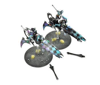 HARLEQUINS 2 Skyweavers #1  PRO PAINTED Warhammer 40K