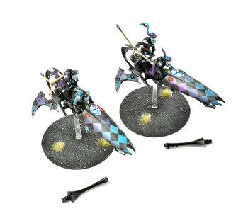 HARLEQUINS 2 Skyweavers #3  PRO PAINTED Warhammer 40K