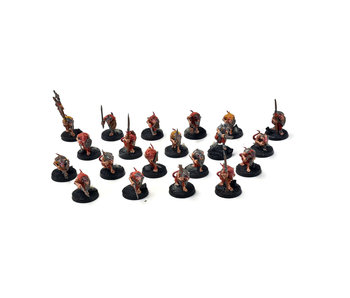 SKAVEN 20 Clanrats #4 WELL PAINTED Warhammer Sigmar