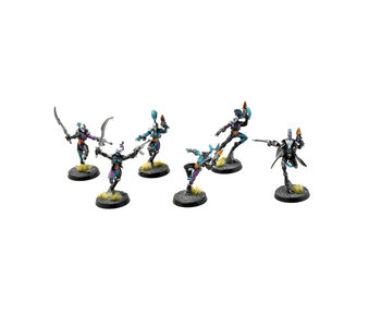 HARLEQUINS 6 Harlequin Troupe #1 PRO PAINTED Warhammer 40K