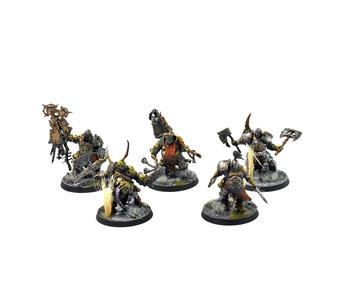 MAGGOTKIN OF NURGLE Putrid Blightkings #2 PRO PAINTED Warhammer Sigmar