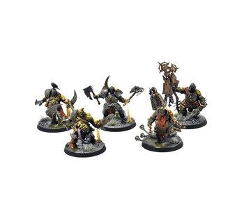 MAGGOTKIN OF NURGLE Putrid Blightkings #4 PRO PAINTED Warhammer Sigmar