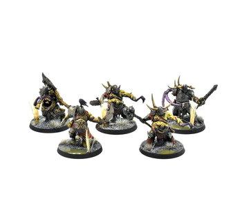 MAGGOTKIN OF NURGLE Putrid Blightkings #6 PRO PAINTED Warhammer Sigmar