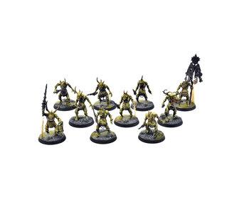 MAGGOTKIN OF NURGLE 10 Plaguebearers #2 PRO PAINTED Warhammer Sigmar