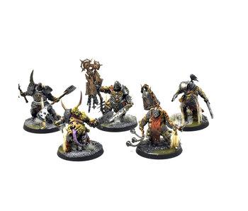 MAGGOTKIN OF NURGLE Putrid Blightkings #5 PRO PAINTED Warhammer Sigmar