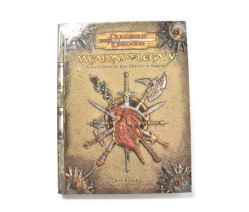 DUNGEONS & DRAGONS Weapons of Legacy Book