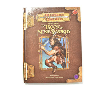 DUNGEONS & DRAGONS The Book of Nine Swords Tome of Battle Book