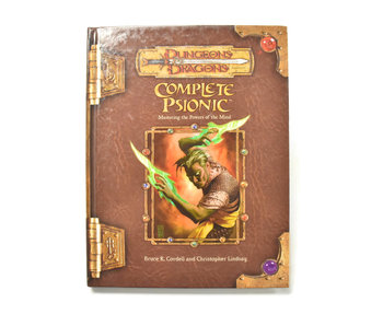 DUNGEONS & DRAGONS Complete Psionic Book
