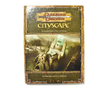 DUNGEONS & DRAGONS Cityscape Book
