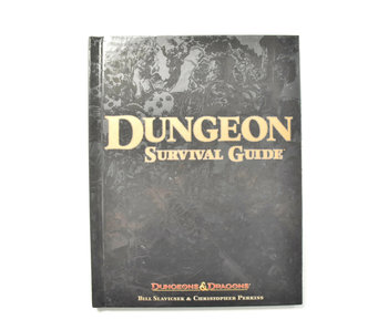 DUNGEONS & DRAGONS Dungeon Survival Guide Book