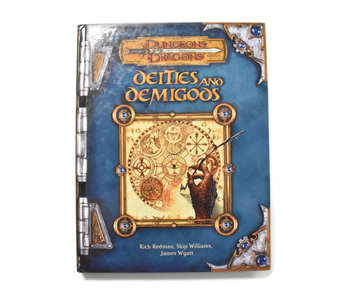 DUNGEONS & DRAGONS Deities and Demigods Book