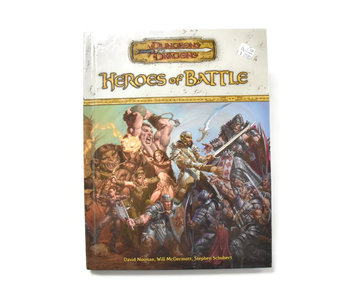 DUNGEONS & DRAGONS Heroes of Battle Book