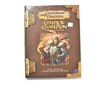 DUNGEONS & DRAGONS Complete Champion Book