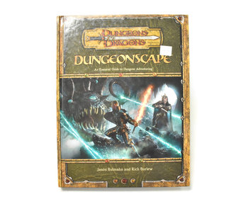 DUNGEONS & DRAGONS Dungeonscape Book