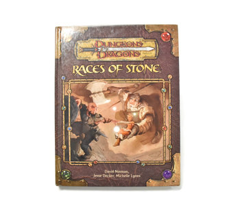 DUNGEONS & DRAGONS Races of Stone Book
