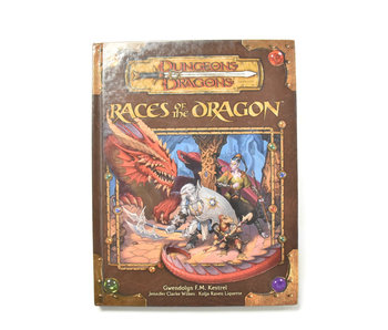 DUNGEONS & DRAGONS Races of Dragons Book