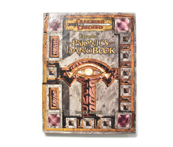 DUNGEONS & DRAGONS Expanded Psionics Handbook Book