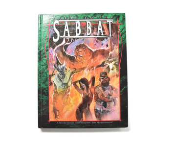 WHITE WOLF Vampire the Masquerade Guide to The Sabbat world of darkness