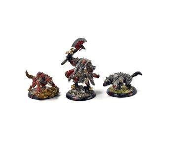 WARMACHINE Commander Zoktavir The Butcher Unleashed #1 METAL khador