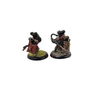 WARMACHINE2 Assault Kommando Flamethrower #1 METAL khador
