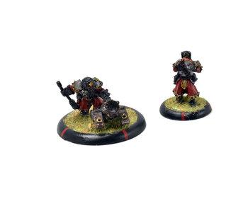 WARMACHINE Winter Guard Mortar Crew #2 METAL khador