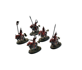 CITIES OF SIGMAR 5 Dragon Princes of Caledor #5 WELL PAINTED Warhammer Sigmar