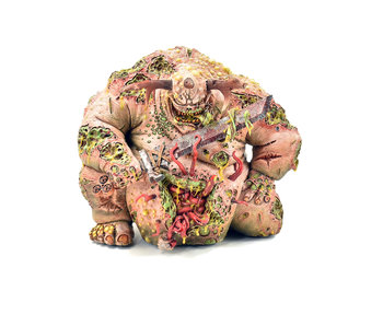 DAEMONS OF NURGLE Great Unclean One Forge world #1 Warhammer Sigmar