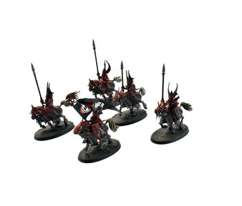 CITIES OF SIGMAR 5 Dragon Princes #2 WELL PAINTED Warhammer Sigmar
