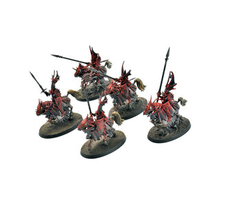 CITIES OF SIGMAR 5 Dragon Princes #1 WELL PAINTED Warhammer Sigmar