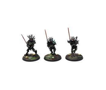 SYLVANETH 3 Kurnoth Hunters #2 WELL PAINTED Warhammer Sigmar