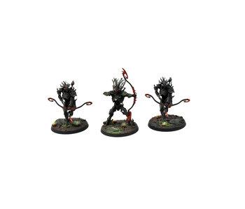 SYLVANETH 3 Kurnoth Hunters #1 WELL PAINTED Warhammer Sigmar