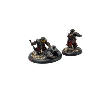 WARMACHINE Winter Guard Mortar Crew #1 METAL khador