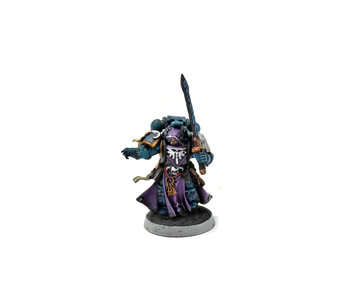 SPACE MARINES Librarian #1 WELL PAINTED Warhammer 40k