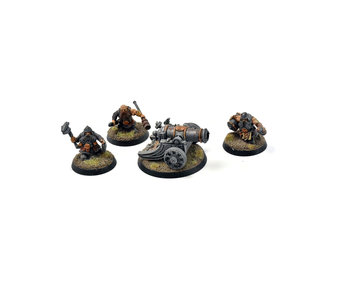 CITIES OF SIGMAR Dwarf Cannon #1 WELL PAINTED Warhammer Sigmar