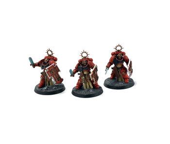 BLOOD ANGELS 3 Bladeguard Veterans #1 Warhammer 40k WELL PAINTED