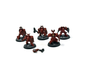 BLOOD ANGELS 5 Terminator Assault Squad #3 Warhammer 40k