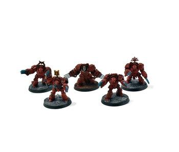 BLOOD ANGELS 5 Terminator Assault Squad #2 Warhammer 40k
