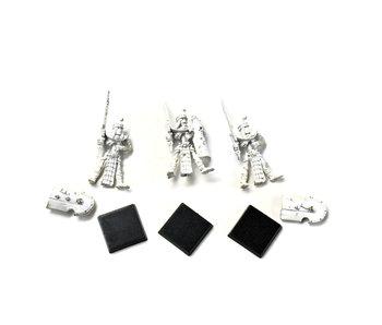 TOMB KINGS 3 Skeleton Tomb Guards #1 METAL Warhammer Sigmar